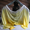 """5H-45144-TFY  4 Yard 5mm Habotai Silk Veil: Tonal Fade Yellow  Check out our <a href=""""http://mivasecure.abac.com/fairycove/merchant.mvc?Screen=PROD&Store_Code=FCS&Product_Code=5H-45144-TFO&Category_Code="""">website</a> for pricing!"""
