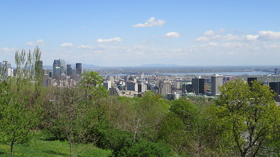 It all started with a drive up to the Westmount Lookout on Mount Royal