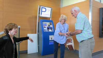Paying for the new underground parking at the hospital