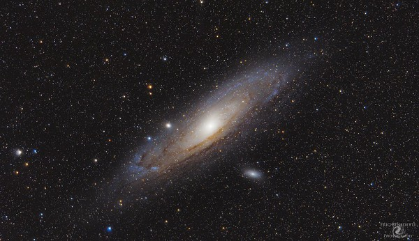 Andromeda at 300mm