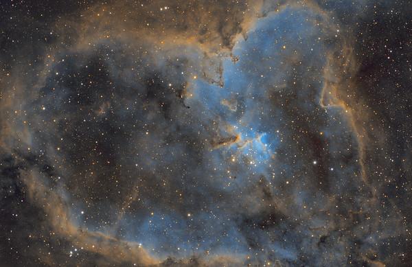 Heart Nebula Hubble