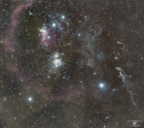 Orion - D600 + Samyang 135mm Mosaic
