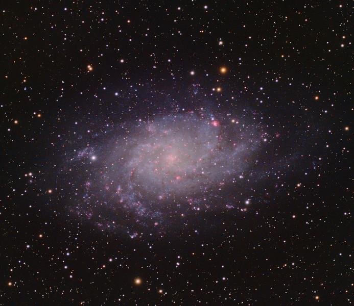 M33 HaLRGB