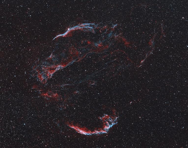 Veil Nebula Wide