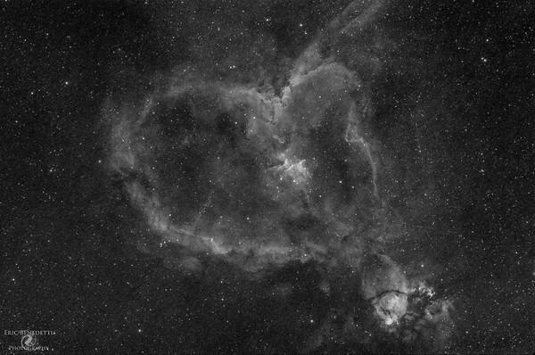 Heart Nebula H-alpha