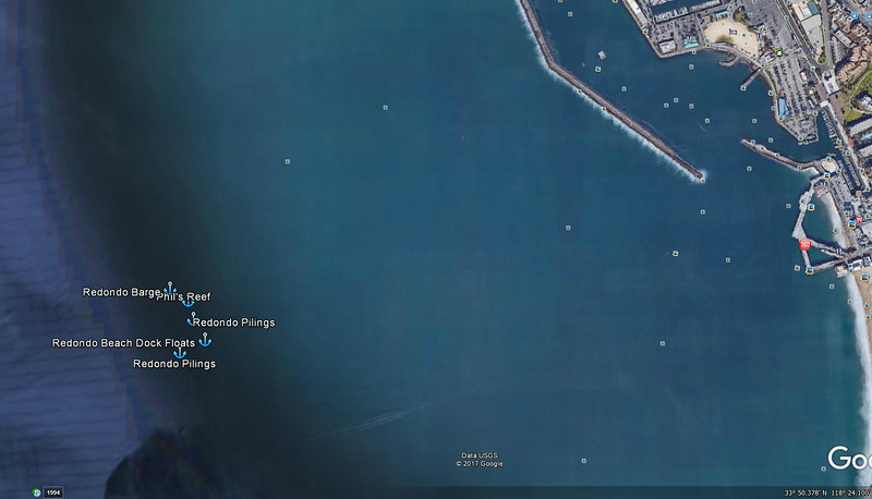 Redondo Beach Artificial Reef