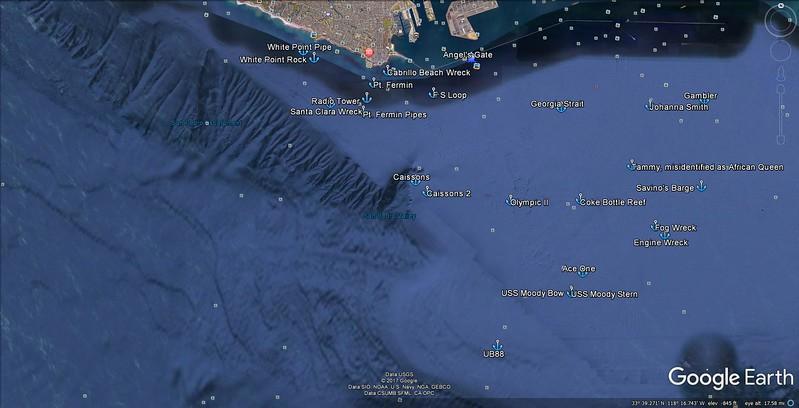 Huntington Flats Dive Sites