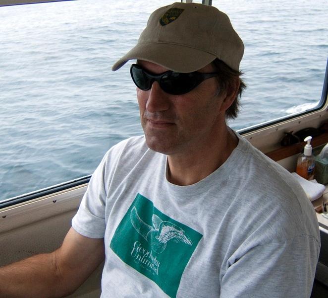 Phil in DFG cap