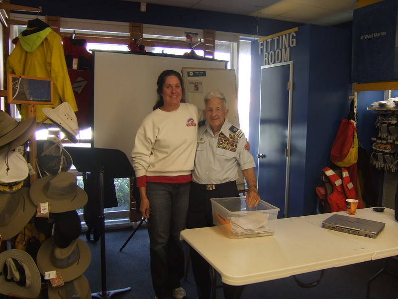 Coast Guard Auxiliary boating course