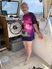 Captain Andy Saxon's SpongeBob t-shirt