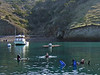 2012-12-09<br /> Kevin Lee, Craig Hoover and Gary at Big Fisherman's Cove, Catalina Island<br /> Dive #'s 551-552
