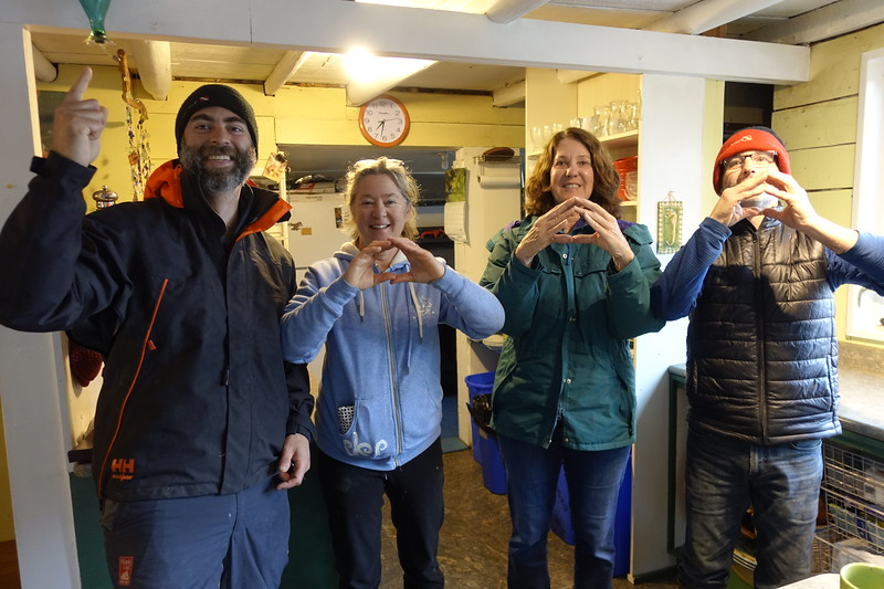 My 1,000th dive celebrated at God's Pocket
