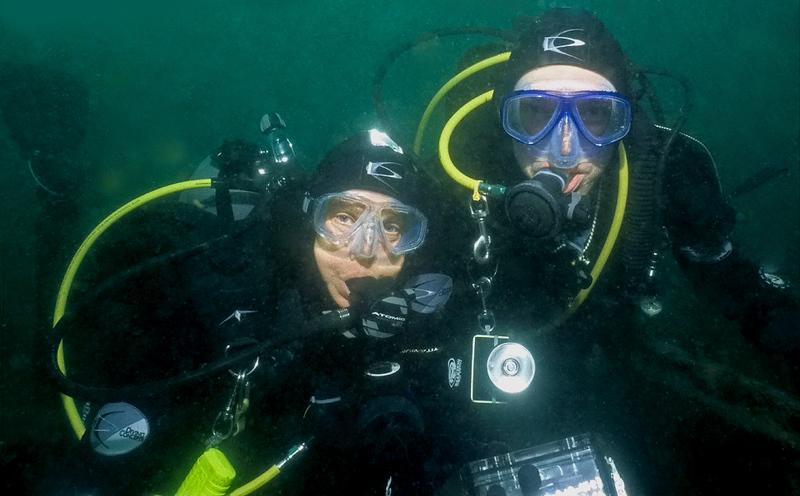 2006-12-24<br /> Hawthorne Reef, Dive #91<br /> Photo by Elaine Jobin