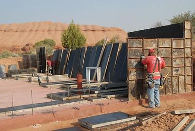 Forming concrete walls