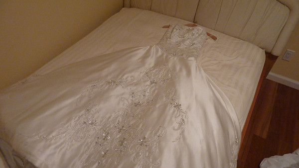 Wedding Gown Preserved