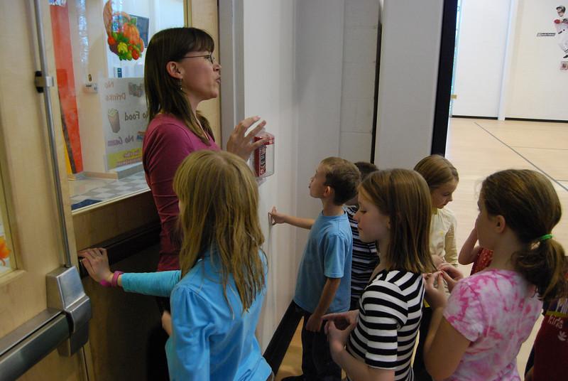 Anne does her 'teacher bit'