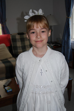 Laura 1st Communion, May 2008