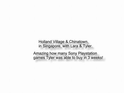 98-07-08 Ty & Lara in Singapore