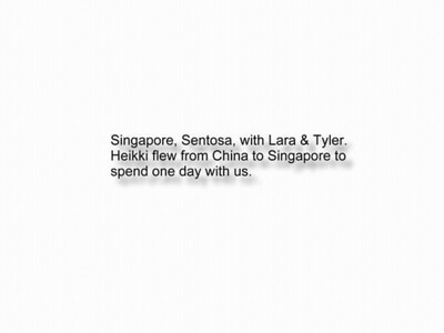 98-07-25 Lar & Ty in Singapore