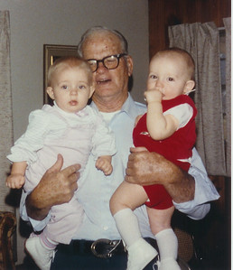 Grandpa Shipwash with Britney Viar & Spencer Myers