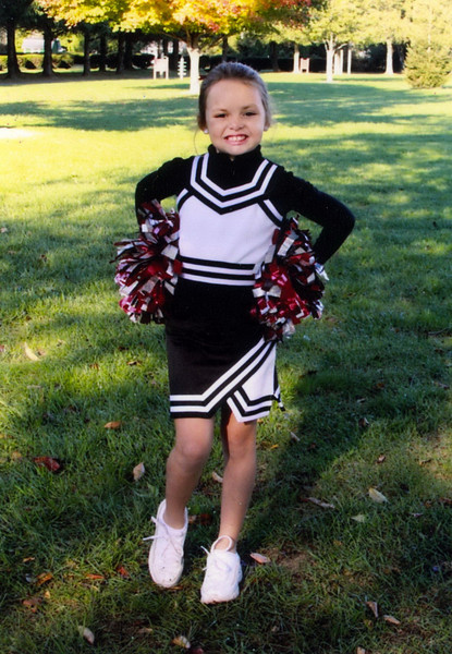 Ava Cheerleader 2010