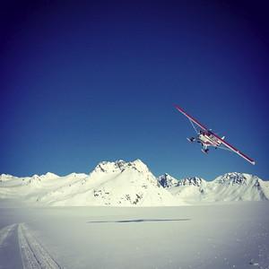 Landing in Neacola Range, AK