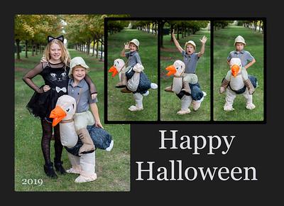 Halloweencard front