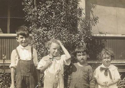 Boye, Ernie, Jean and Jack