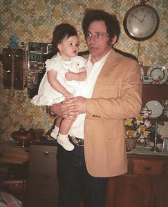 Larry Schleyhahn Holding Theresa Schleyhahn