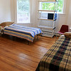 A bedroom at the new Our Father's House Sober House for men in Leominster on Tuesday afternoon during the ribbon cutting ceremony. SENTINEL & ENTERPRISE/JOHN LOVE