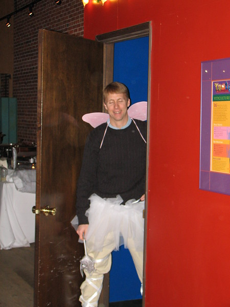 Brad dressed as a Fairy