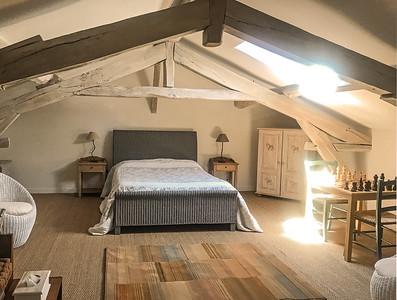 Double attic bedroom 3 with aircon