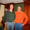 12/27/10: Steve Maguire and Tom. Diane and I got an opportunity to visit Steve and Amy during our New England Christmas visit that year.
