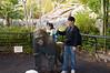 2008-01-12 - San Diego Zoo - Kylie and Gorilla Statue - _DSC1495