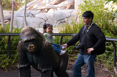 Kylie at the San Diego Zoo (January 12, 2008)