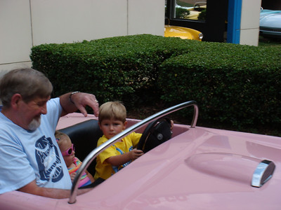Papaw Archie, Sydney, and Zane go for a ride...