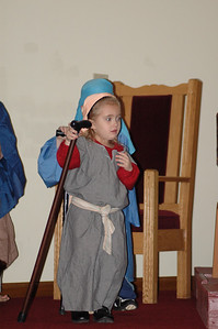 Sydney as a Shepherd - Christmas 2008