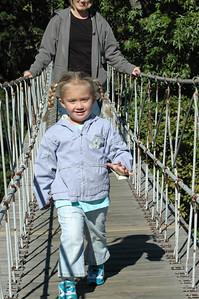Rope Bridge - Rock City, Chattanooga