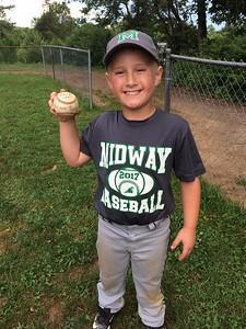 Cooper and his walk-off, 3-run, homerun