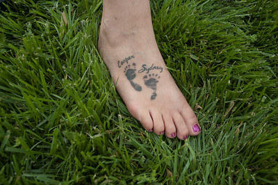 April's tat....photo by sydney