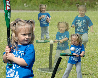 Sydney Nicole Queener:  T-Ball 2008