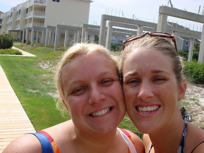 Sabrina and April.....who needs a tripod