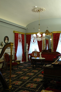 Inside Brigham Young's house