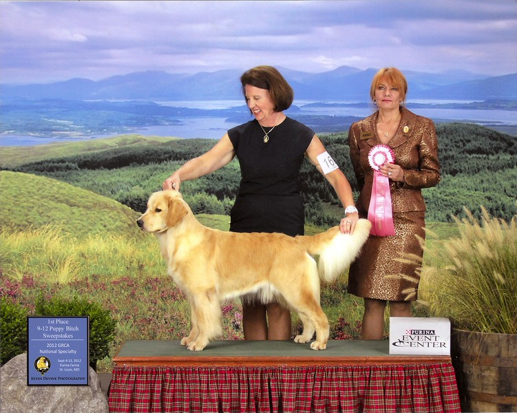 CeeCee and I winning sweeps at the 2012 national