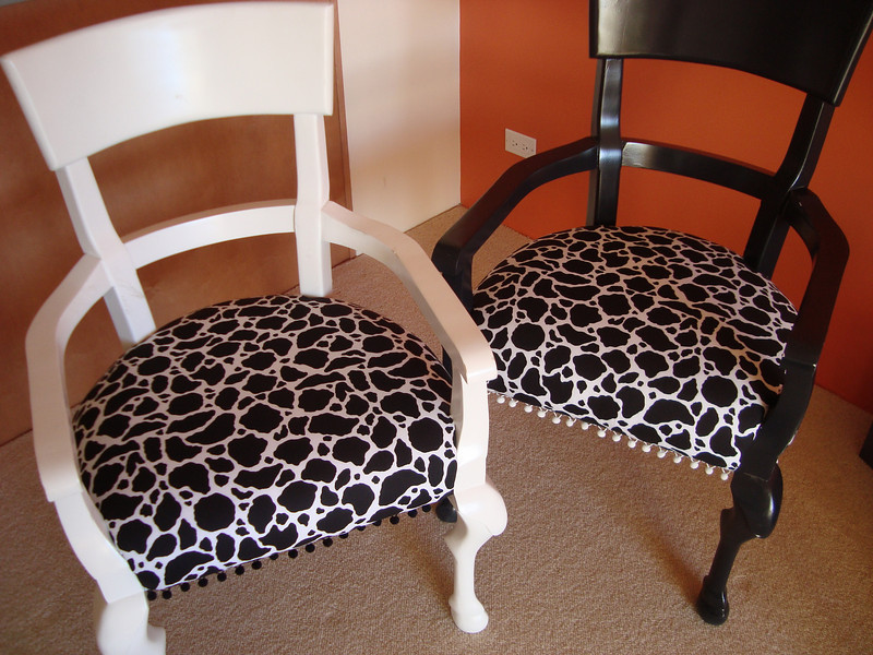 My chairs...