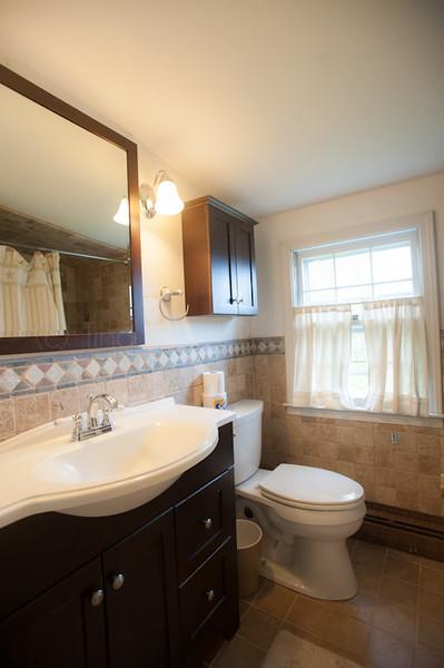 3rd Floor bathroom with step in bath tub