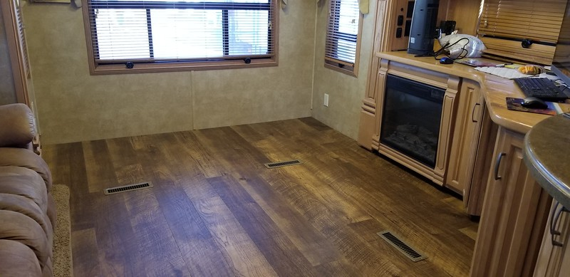 Replacement of Carpet with Vinyl Plank Flooring