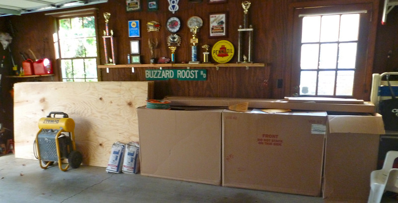 CABINETS TO BE INSTALLED