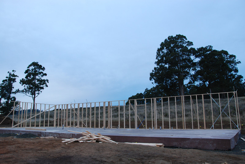 Framing starts on our house. Framing completion is scheduled for week of June 20.