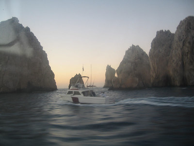 the amazing natural rock formations of which  cabo is famous